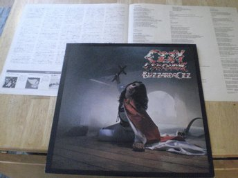 Ozzy Osbourne - Blizzard Of Ozz (JAPAN) Black Sabbath TOPPEX