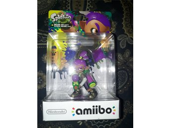 Amiibo Inkling Boy Purple