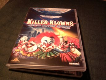 killer klowns from outer space galaxina chiodo clown rysare cirkus vernon
