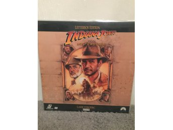 Indiana Jones and the last crusade US LASERDISC  Connery Spielberg Ford