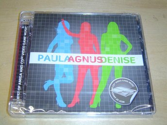 Paula Agnus Denise Soundtrack Musik Commodore Amiga & CD32 *NYTT*