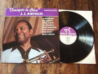 J.J. JOHNSON / Concepts In Blue ( US Press 1981 / Pablo Today Records)