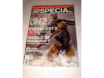 PC GAMER SPECIAL  Nr4 2004  HELT NY   HALF LIFE 2  WOW  mm.