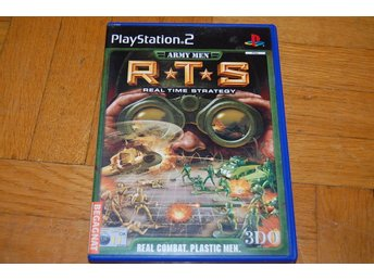 Army men RTS Playstation 2 PS2