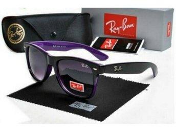 The Ray Ban RB2140 Wayfarer Sunglasses Black/Purple made in China - Bangkok - The Ray Ban RB2140 Wayfarer Sunglasses Black/Purple made in China - Bangkok