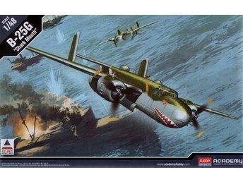 Academy 1/48 B-25G Mitchell 'Shark Mouth' - Skoghall - Academy 1/48 B-25G Mitchell 'Shark Mouth' - Skoghall