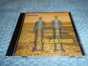 S.P.O.C.K. - Five Year Mission (CD) VG++/EX
