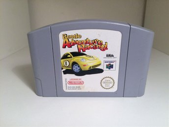 Beetle Adventure Racing - Nintendo 64 / N64 - PAL / SCN - Svensksåld