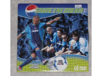 Pepsi share the dream David Beckham Rui Costa Edgar Davids Gianluigi Buffon m.m