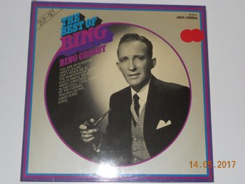 BING CROSBY - The best of, Dubbel-LP MCA Coral Tyskland '73