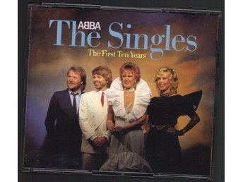 Abba The singles [The first ten years] (2 CD) Polydor 810 050-2 - Nacka - Abba The singles [The first ten years] (2 CD) Polydor 810 050-2 - Nacka
