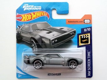 NYHET Hot Wheels - 1968 Dodge Charger Icecharger - The Fate of the Furious