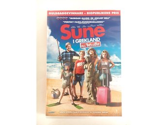 Dvd-film SUNE I GREKLAND All inclusive Familjefilm Svensk film