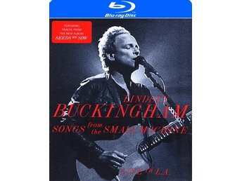 Buckingham Lindsey: Songs from The Small Machine (Blu-ray)