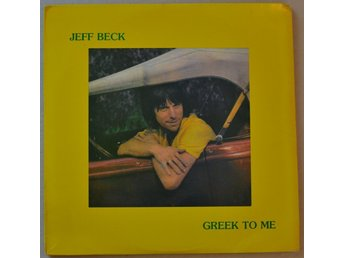 Jeff Beck Greek to Me Vinyl Double LP
