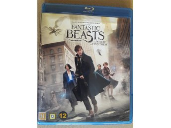 Fantastic Beasts and Where to Find Them. Blu Ray