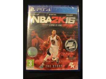 NBA 2K16 / PLAYSTATION 4 PS4 / HELT NYTT & INPLASTAT