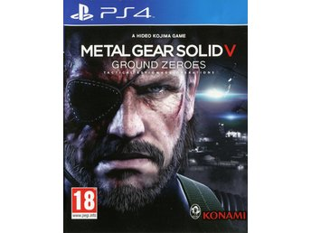 "PS4-spel ""Metal Gear Solid V: Ground Zeroes"""