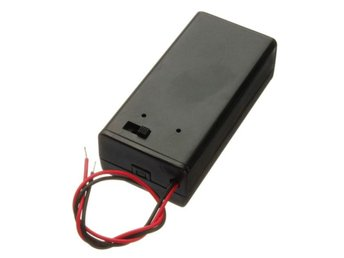 9V Battery Box Pack Holder With ON/OFF Power Switch Toggl...
