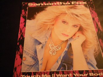 samantha fox touch me singel