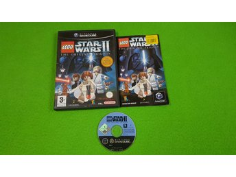 Lego Star Wars 2 The Original Trilogy Nintendo Game Cube gamecube