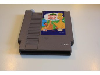 SESAME STREET BIG BIRDS HIDE & SPEAK NES