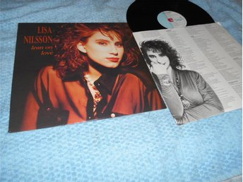 Lisa Nilsson - Lean On Love (LP) EX/EX