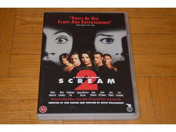 Scream 2 ( Wes Craven Coutney Cox David Arquette ) DVD