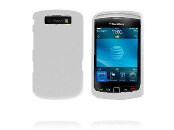 Beta Shell (Vit) BlackBerry Torch 9800 Skal