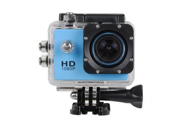 Camera HD DVR Video Action Camera Blue   US Plug 30M Waterproof Sport