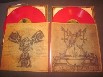 Mayhem - Esoteric Warfare 2LP Röd vinyl Ltd 300x (darkthrone