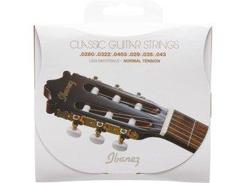 Ibanez strängset för classic gitarr , Normal tension - Ljungby - Ibanez strängset för classic gitarr , Normal tension - Ljungby