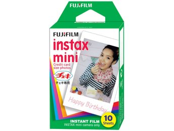 FUJIFILM - 10 Pack Instax Mini 8 Camera Film