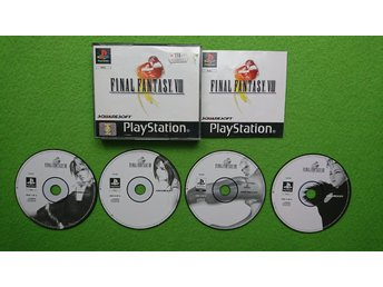 Final Fantasy VIII 8 KOMPLETT I FINT SKICK Playstation 1 PSone ps1
