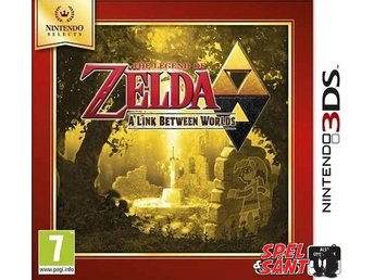 The Legend of Zelda A Link Between Worlds Nintendo Selects