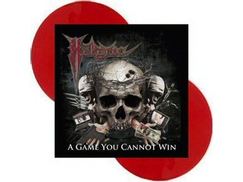 Heretic -A game you cannot win DLP red vinyl ltd 500 Thrash