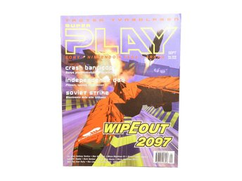 "Super Play September 1996 ""WipeOut 2097"""