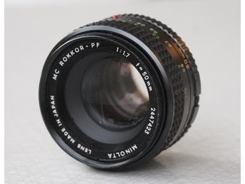 Minolta MC Rokkor-PF 1:1,7 50mm