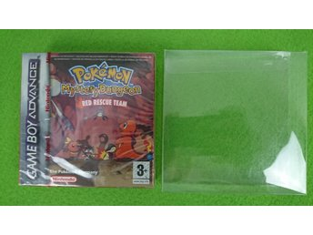 Pokemon Mystery Dungeon Red Rescue NYTT INPLASTAT Nintendo GBA