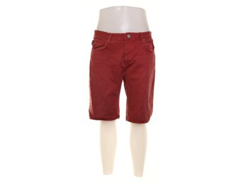 Jack & Jones, Shorts, Strl: L, Röd