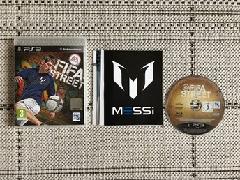 Fifa Street till Playstation 3, PS3, komplett