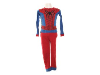 The Amazing Spider-Man, Pyjamasset, Strl: 124, Blå/Röd