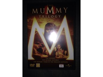 DVD The Mummy trilogy