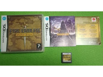 Fire Emblem Shadow Dragon KOMPLETT FINT SKICK Nintendo DS