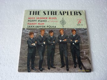 The Streaplers Sv. COLUMBIA SEGS 125 EP-omslag Mule Skinner Blues