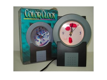 Deluxe Color Clock