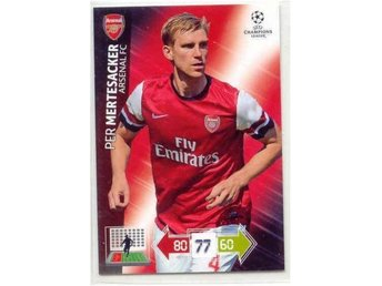 MERTESACKER  - ARSENAL -CHAMPIONS LEAGUE 2012-2013