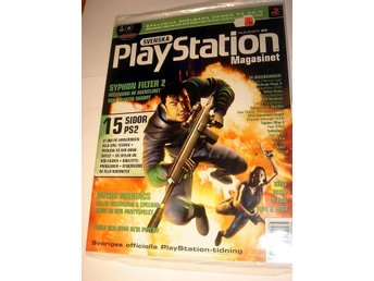 PLAYSTATION 29 NY CD MAJ2000 SYPHON FILTER 2 I ORIGINALPLAST