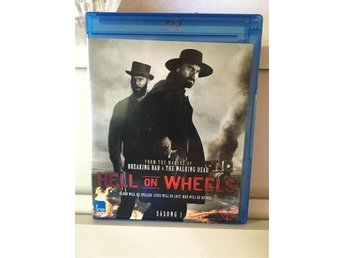 Hell on Wheels säsong 1-Blu-ray i toppskick