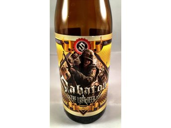 SABATON THE LAST BEER UNIK FLASKA SAMLAROBJEKT